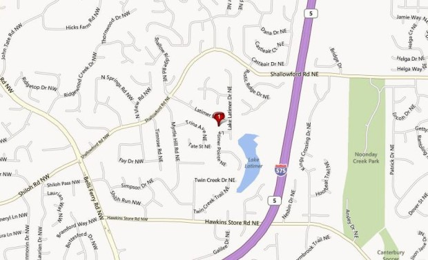 Map Location Kennesaw Neighborhood